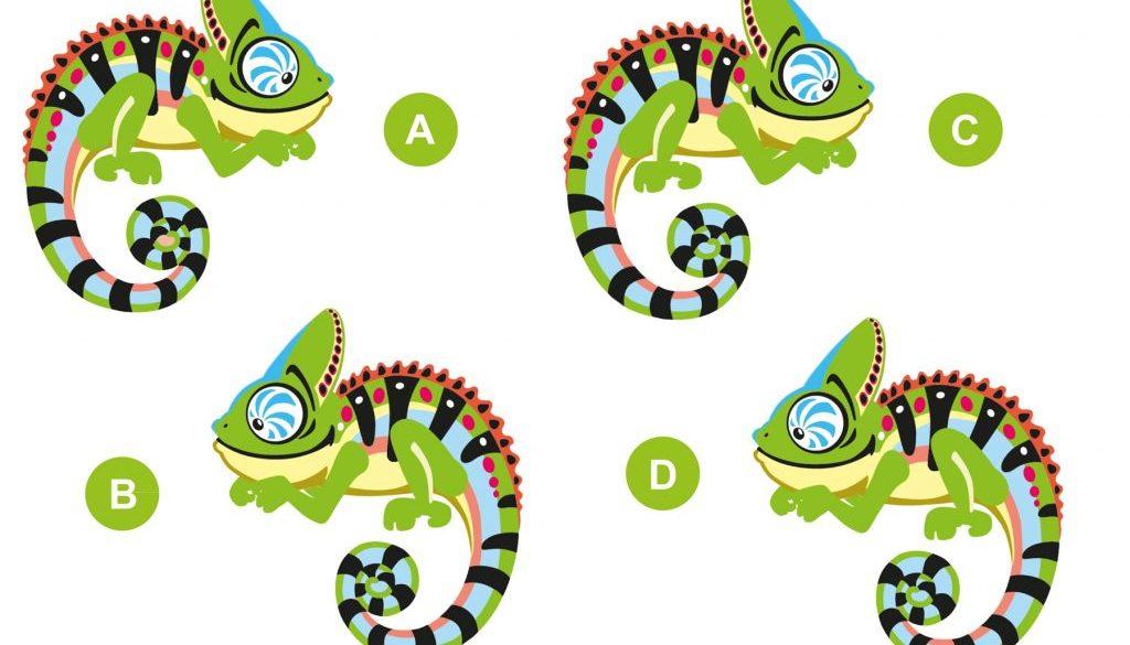 2sindgleich-Rätsel zum Thema Reptilien