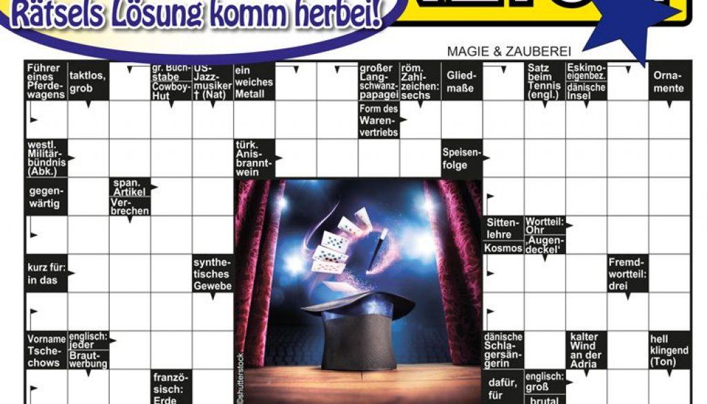 Rätselzauber 2/2017 Coverseite