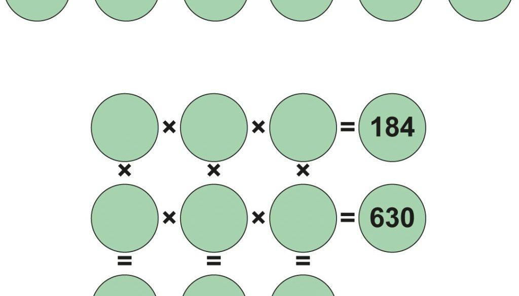Multiplikationsrätsel