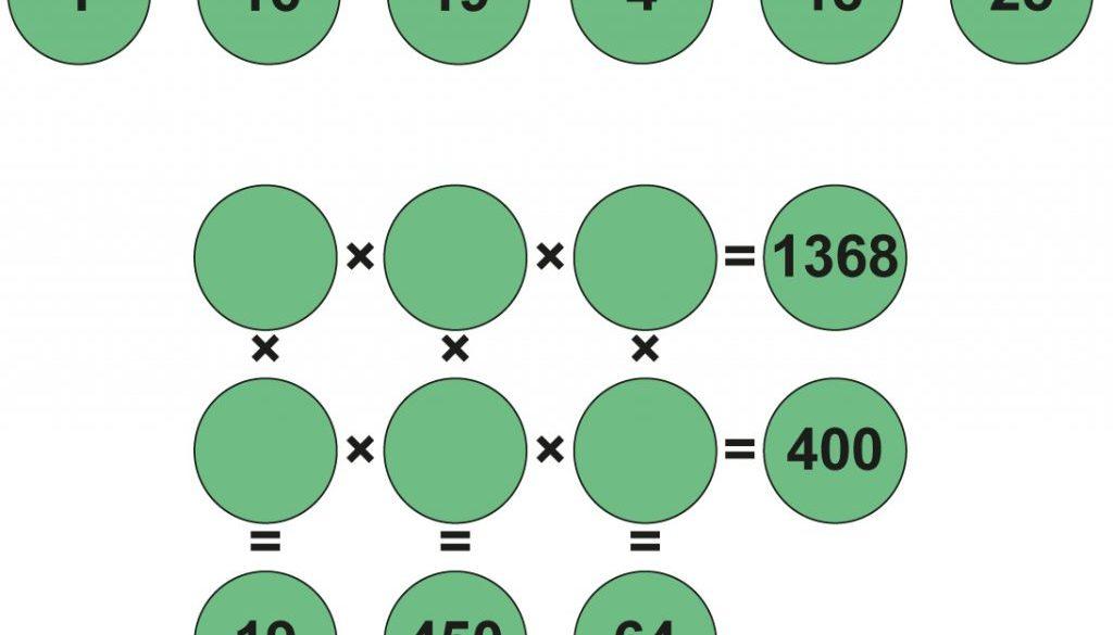 Multiplikationsrätsel #9