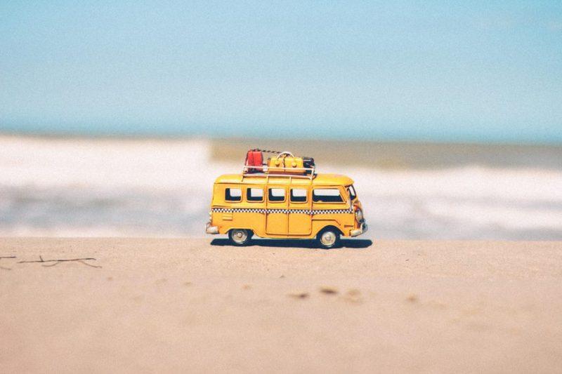 beach blue car combi 386025