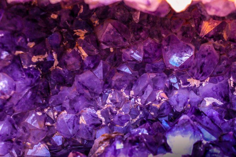 closeup photo of purple gemstones 1121123