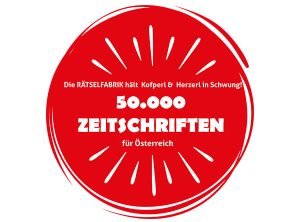 50000 Rätselzeitschriften für Österreich