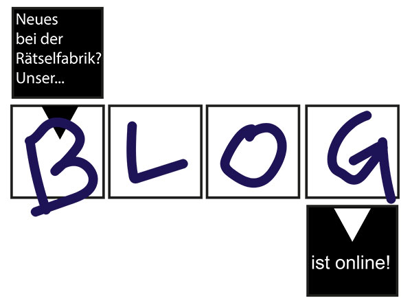 Blog der Rätselfabrik ist online