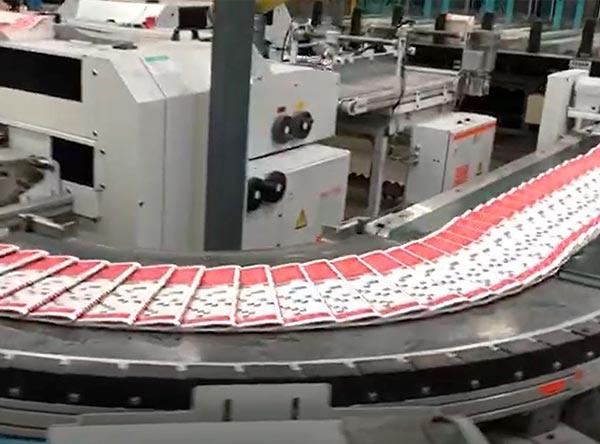 Die Druckerei produziert Rätselraben.