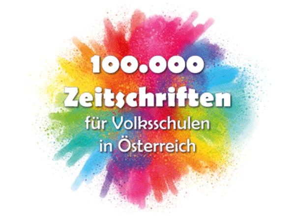 Sonderausgabe 100000 Zeitschriften für Österreichs Volksschulen