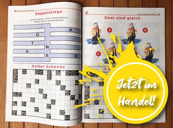 Neue Ausgabe Rätselrabe und Rätselzauber