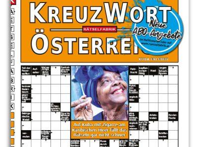 Neue Ausgabe vom Kreuzwort Österreich