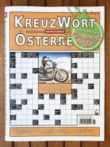 Neue Ausgabe vom Kreuzwort Österreich - Titelbild