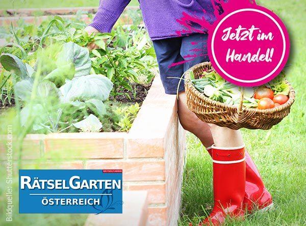 Neue Ausgabe Rätselgarten Österreich zum Thema Hochbeete