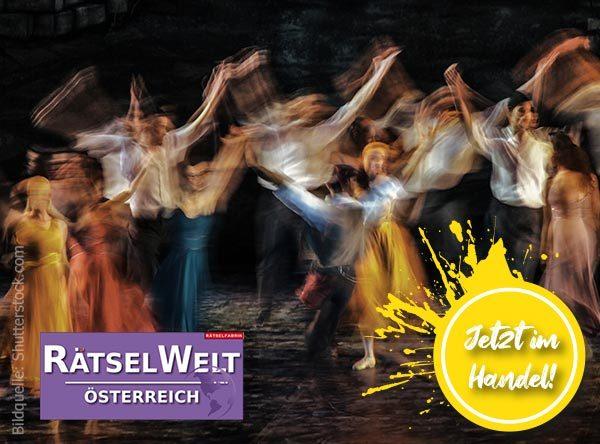 Neue Ausgabe Rätselwelt zu Thema Welt der Musicals