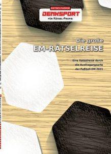 EM Rätselreise 2021 - Rätselbuch der Rätselfabrik