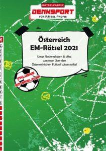 Österreich EM Rätsel 2021 - Rätselbuch der Rätselfabrik