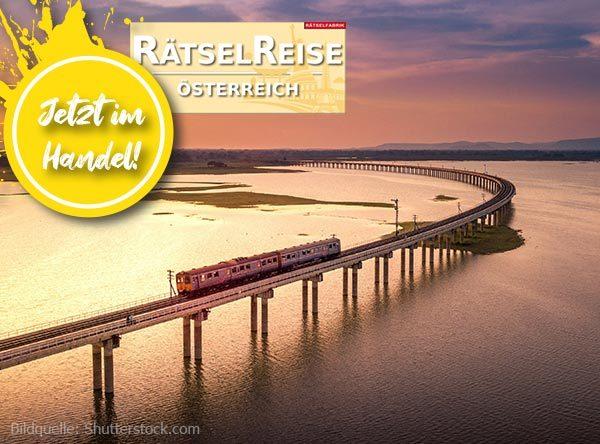 Neue Ausgabe Rätselzauber zum Thema Reisen auf Schienen