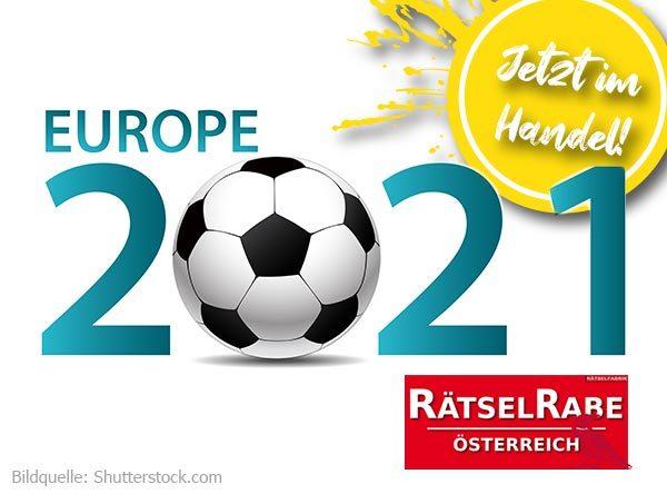 Neue Ausgabe des Rätselrabe Österreich zum Thema Fußball-EM 2021