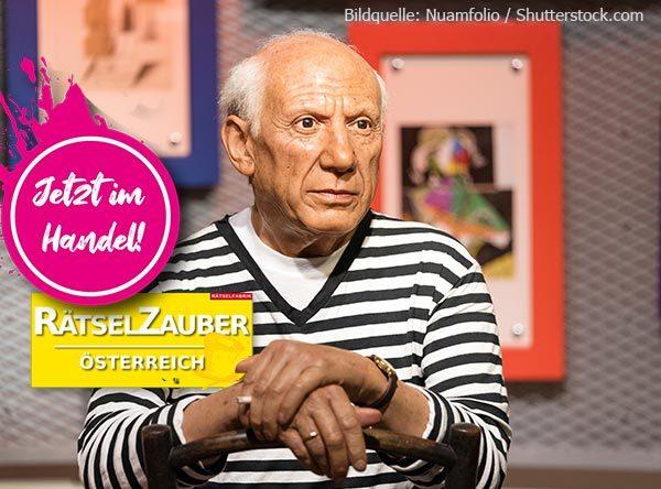 Neue Ausgabe Rätselzauber zum Thema Pablo Picasso