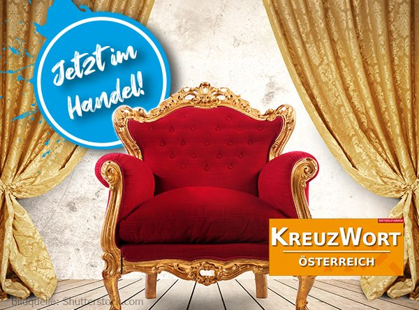 Neue Ausgabe Kreuzwort Österreich zum Thema Königshäuser