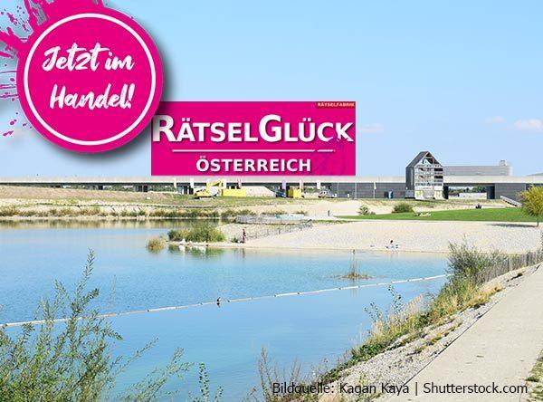 Neue Ausgabe Rätselglück zum Thema Seestadt Wien