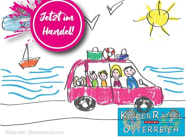 Neue Ausgabe des Kinderrätsel Österreich