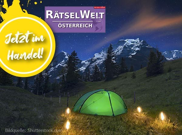 Neue Ausgabe Rätselwelt Österreich