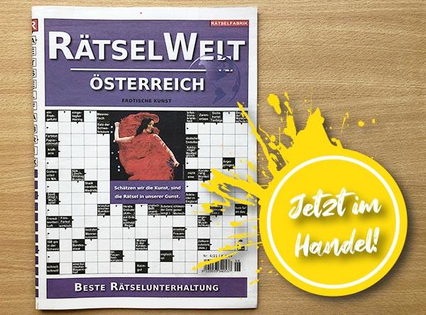 Neue Ausgabe der Rätselwelt Österreich