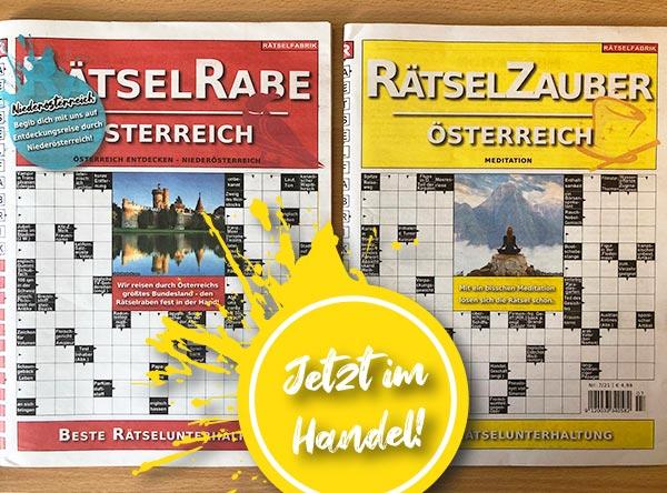Neue_Ausgaben_Raetselrabe_Raetselzauber_Oesterreich